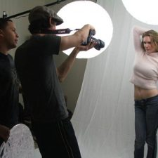 Malorie Mackey Modeling Behind the Scenes